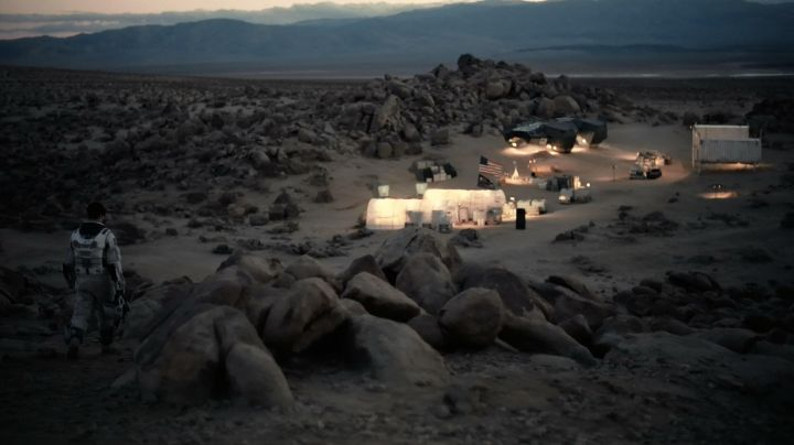 Lucerne Valley California is the setting for the planet Edmunds in Interstellar - Movie Outfits and Products