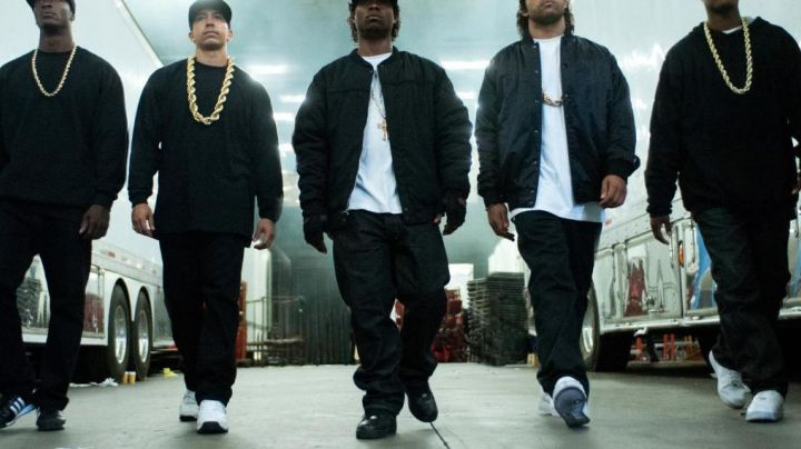 NWA Straight Outta Compton Air Force One - Movie Outfits and Products