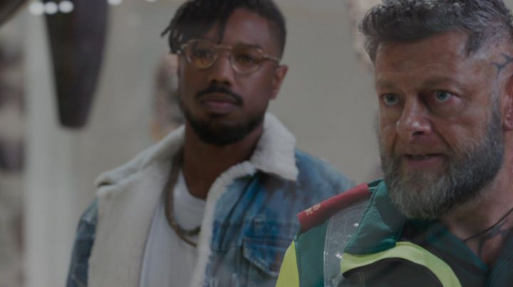 Necklaces worn by Erik Killmonger (Michael B. Jordan) as seen in Black Panther - Movie Outfits and Products