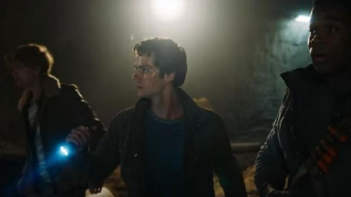 Newt's (Thomas Brodie) aviator jacket as seen in Maze Runner: The Death Cure Movie
