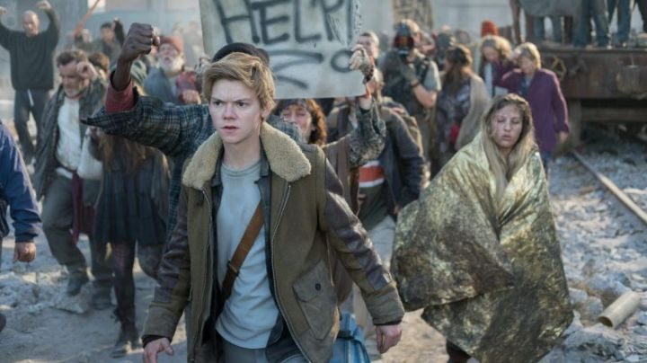 Newt's (Thomas Brodie) leather trucker as seen in Maze Runner: The Death Cure Movie