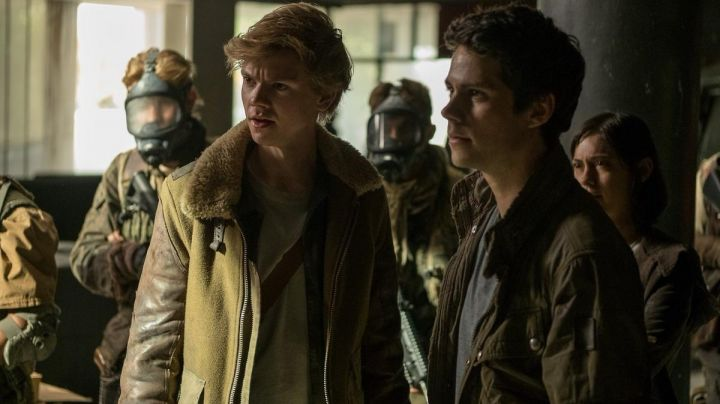Newt's (Thomas Brodie) sherpa trucker jacket as seen in Maze Runner: The Death Cure Movie