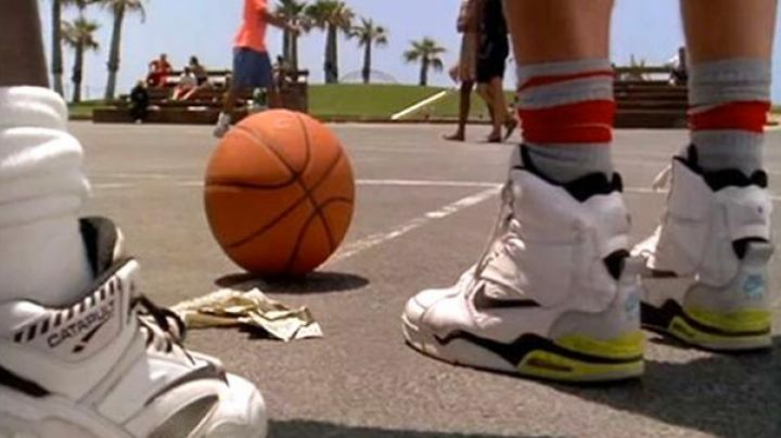 Nike Air Command Force sneakers worn by Billy Hoyle (Woody Harrelson) as seen in White Men Can't Jump Movie