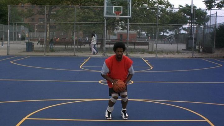 Nike Air Jordan 13 (XIII) sneakers worn by Jake Shuttlesworth (Denzel Washington) as seen in He Got Game - Movie Outfits and Products