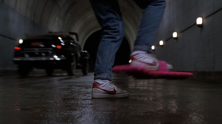 Nike Bruin shoes worn by Marty McFly (Michael J. Fox) as seen in Back to The Future II - Movie Outfits and Products