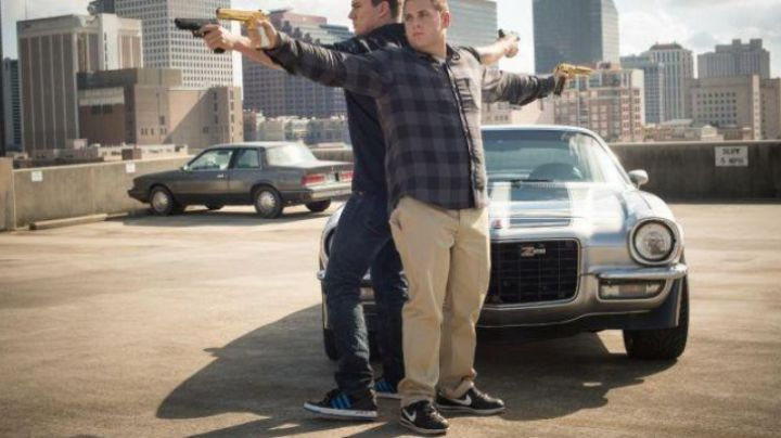 Fashion Trends 2021: Nike shoes Cortez of Jonah Hill in 22 Jump Street