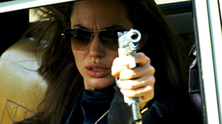Oliver Peoples sunglasses as seen on Angelina Jolie in Wanted