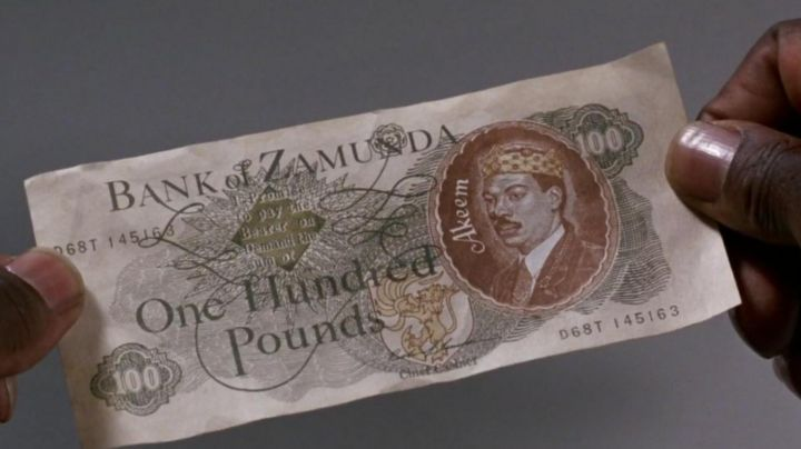 Original Screen-Used Bank of Zamunda Note in Coming To America - Movie Outfits and Products
