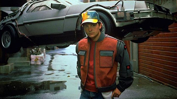 Fashion Trends 2021: Original Self-Drying Jacket worn by Marty McFly (Michael J. Fox) in Back to The Future Part II