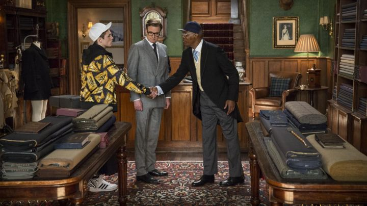 Oxford shoes Harry Hart (Colin Firth) in Kingsman : the Secret Service - Movie Outfits and Products