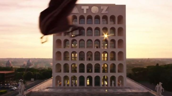 Palazzo della Civiltà Italiana in Rome in Zoolander 2 - Movie Outfits and Products