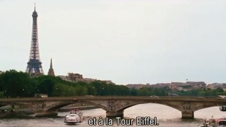 Paris Eiffel Tower in Welcome to Monte Carlo - Movie Outfits and Products