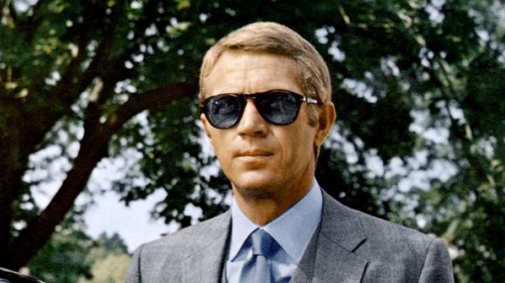 Persol Sunglasses worn by Thomas Crown (Steve McQueen) as seen in The Thomas Crown Affair - Movie Outfits and Products