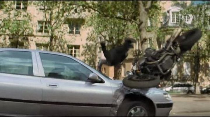 Peugeot 406 (2016) hit by Ethan Hunt (Tom Cruise) as seen in Mission: Impossible - Fallout - Movie Outfits and Products