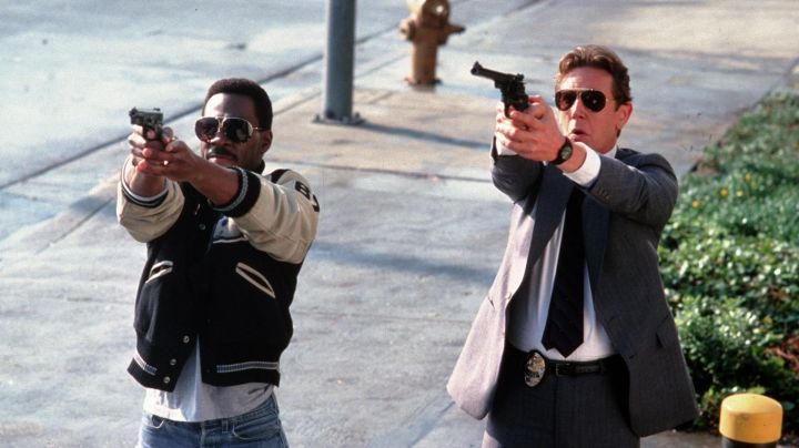 Porsche Sunglasses worn by Axel Foley (Eddie Murphy) in Beverly Hills Cop II - Movie Outfits and Products