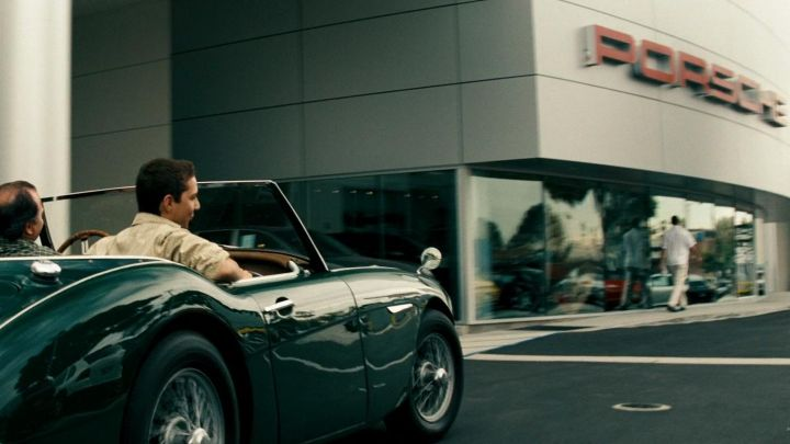 Porsche shop visited by Sam Witwicky (Shia LaBeouf) in Transformers Movie