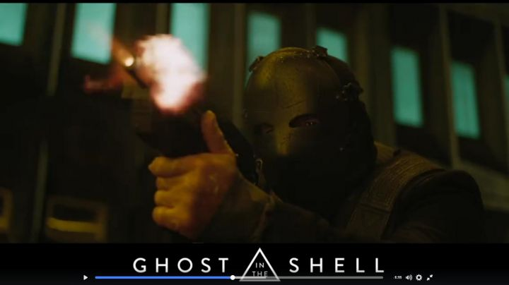 Protective mask in Ghost in the Shell - Movie Outfits and Products