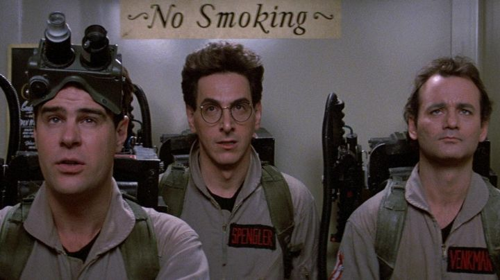 Proton pack of Dr. Egon Spengler (Harold Ramis) in Ghosbusters - Movie Outfits and Products