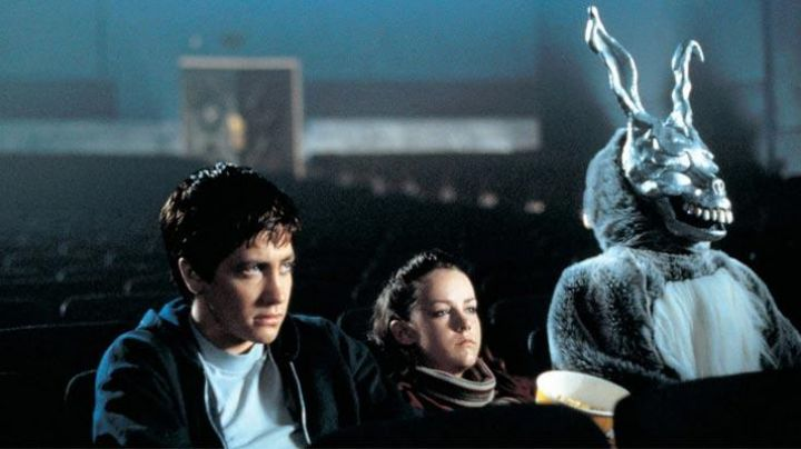 Rabbit Mask worn by Frank (James Duval) as seen in Donnie Darko - Movie Outfits and Products