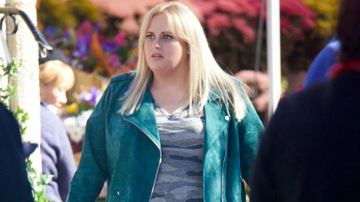 Rebel Wilson x Angels Suede Jacket worn by Fat Amy / Patricia (Rebel Wilson) in Pitch Perfect 3 - Movie Outfits and Products