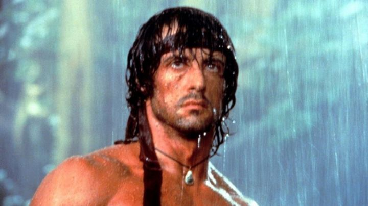 Red Bandanna worn by John Rambo (Sylvester Stallone) in Rambo: First Blood Part II - Movie Outfits and Products