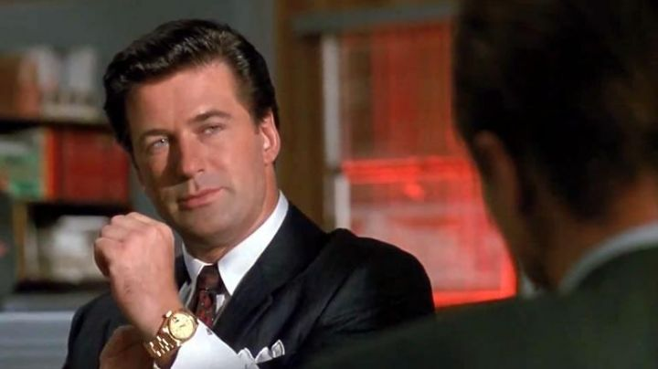 Rolex Watch worn by Alec Baldwin in Glengarry Blen Ross - Movie Outfits and Products