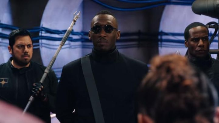 Round Sunglasses worn by Vector (Mahershala Ali) as seen in Alita: Battle Angel Movie