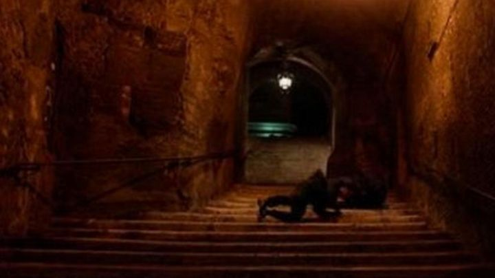 Scalinata dei Borgia, Via Cavour in Rome in John Wick 2 - Movie Outfits and Products