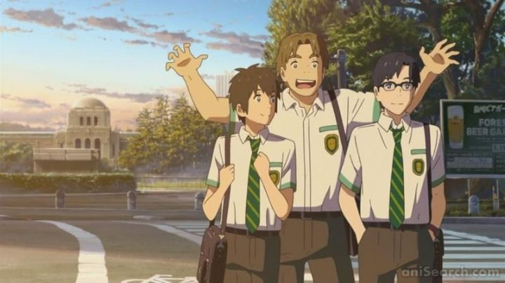 School uniform/ cosplay of Taki in Your name - Movie Outfits and Products