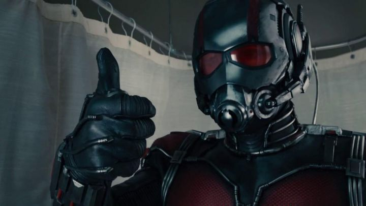 Scott Lang / Ant-Man's (Paul Rudd) helmet as seen in Ant-Man and the Wasp Movie