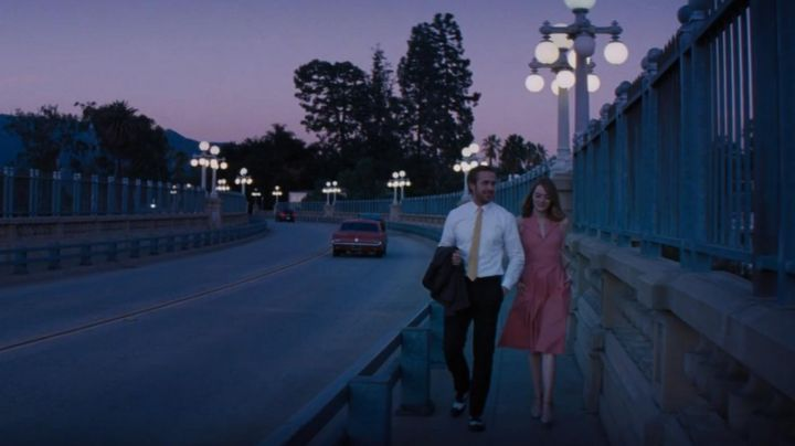 Sebastian's (Ryan Gosling) black and white shoes in La La Land - Movie Outfits and Products