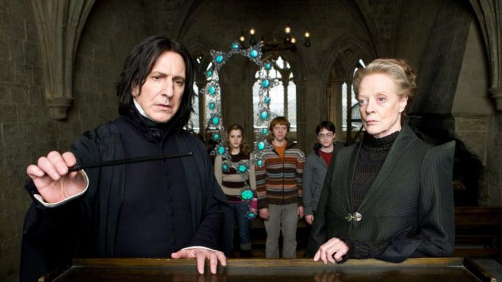 Severus Snape's (Alan Rickman) black magical wand in Harry Potter and the Half-Blood Prince - Movie Outfits and Products