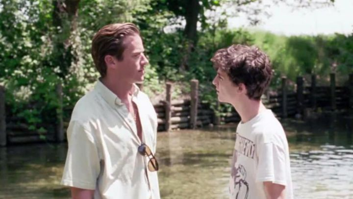 Shirt worn by Oliver (Armie Hammer) in Call me by your name Movie