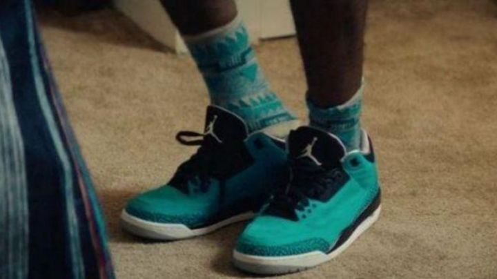 Shoes Jordan 3 retro blue in Dope - Movie Outfits and Products
