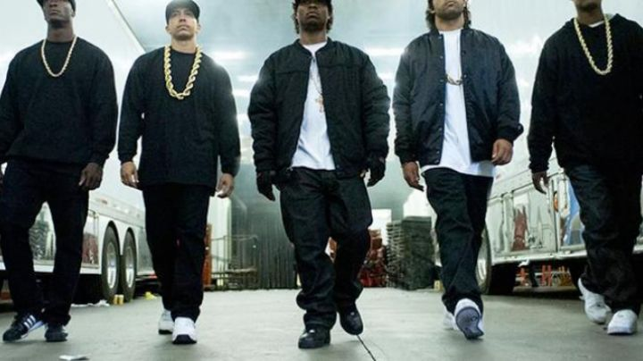 Fashion Trends 2021: Shoes Nike Air Force 1 Mid in N. W. A Straight Outta Compton