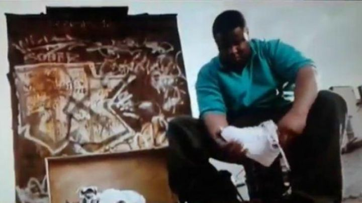 Fashion Trends 2021: Shoes Nike Air Force MID in Notorious BIG