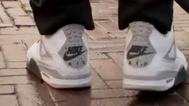 """Fashion Trends 2021: Shoes Nike Air Jordan 4 """"white cement"""" of Ulysses in Gangsterdam"""