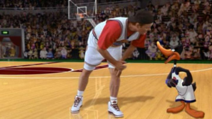 Shoes Nike Air Jordan II retro Bill Murray in Space Jam - Movie Outfits and Products