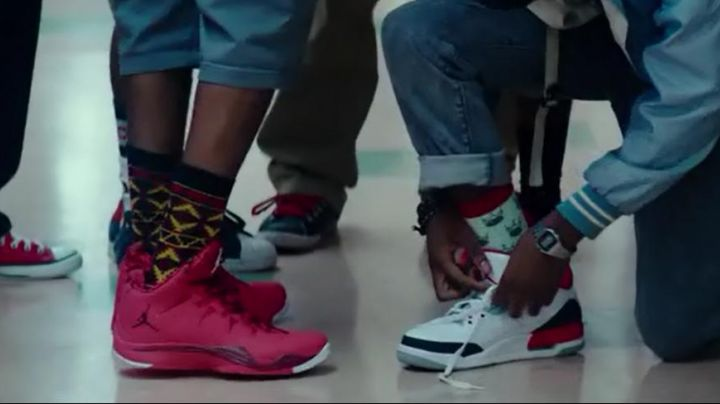 Fashion Trends 2021: Shoes Nike Air Jordan of Malcolm in Dope