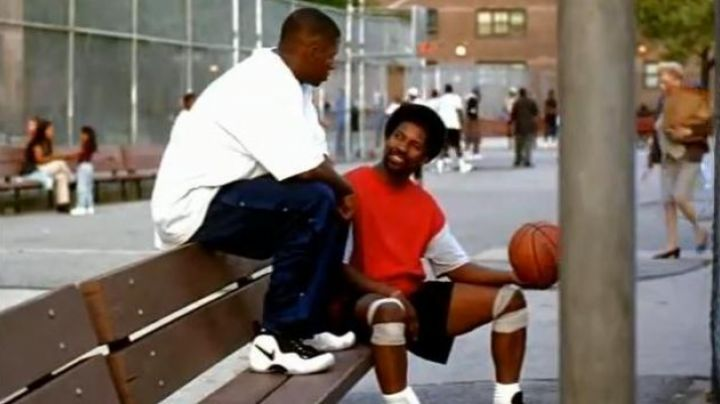 Fashion Trends 2021: Shoes Nike Foamposite Pro Pearl Class of 97' Jesus Shuttlesworth (Ray Allen) in He Got Game