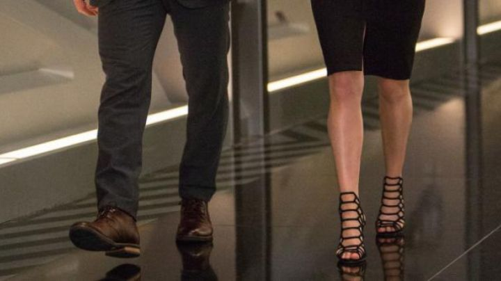 Shoes / Sandals with heels of Jennifer Lawrence in Passengers - Movie Outfits and Products