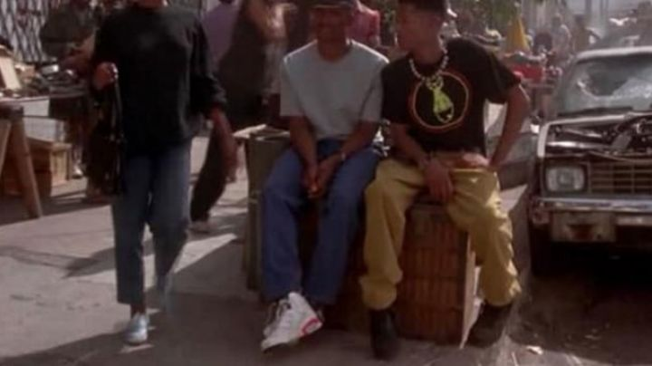 Shoes of Damon Wayans' in the movie Mo' Money - Movie Outfits and Products