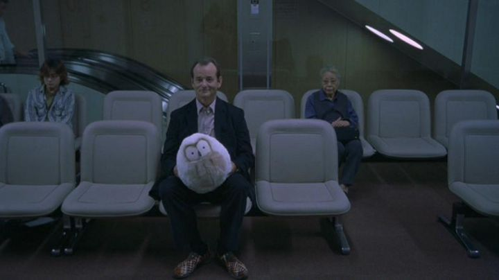 Shoes patterned with Bill Murray in Lost in Translation - Movie Outfits and Products