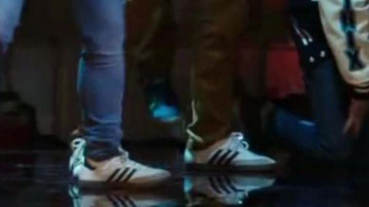 Fashion Trends 2021: Sneakers Adidas Samba White of Jenny in Sexy Dance 5 : All in Vegas