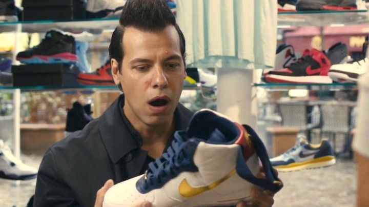 """Sneakers Air Force 1 Hi Premium """"Dream Team"""" in 16 years or so - Movie Outfits and Products"""