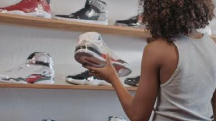 Sneakers Air Jordan 3 White Kicks - Movie Outfits and Products