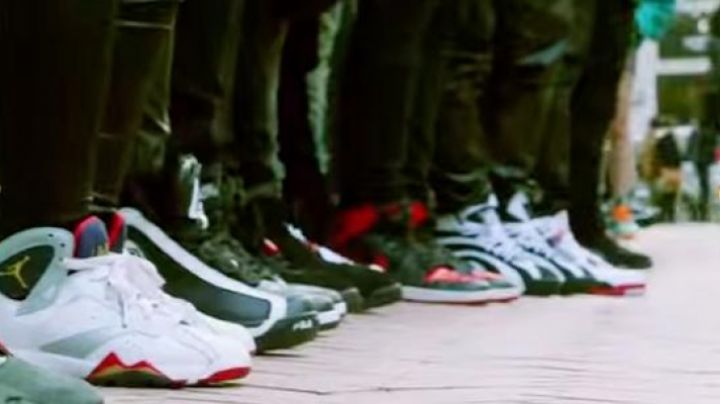 """Sneakers Fila 96 Retro """"Grant Hill"""" in Sneakerheadz - Movie Outfits and Products"""