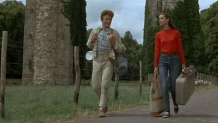 Sneakers Keds Champion worn by Joanna Wallace (Audrey Hepburn) in Trip to two Movie
