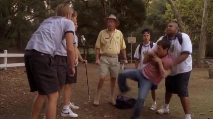 Sneakers Nike Air Force 1 white in American Pie: No Limit! - Movie Outfits and Products