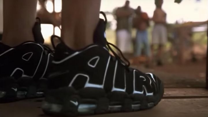 Fashion Trends 2021: Sneakers Nike Air Max More Uptempo George (Brendan Fraser in George of the Jungle